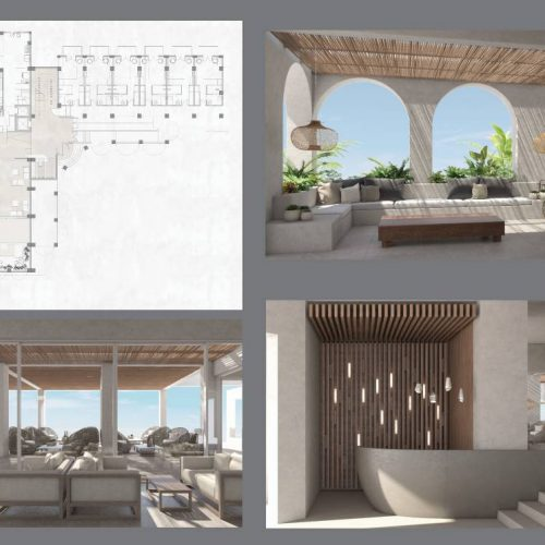Αρχιτεκτονική μελέτη ξενοδοχείου